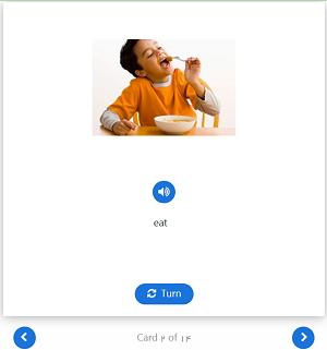 آموزش آنلاین با فلش کارت الکترونیکی
