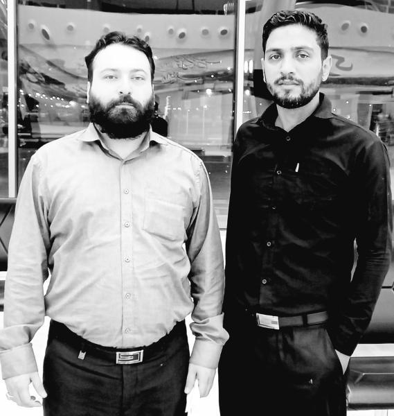 کربلایی  علی رضائی نژاد و کربلایی مهران بارانی