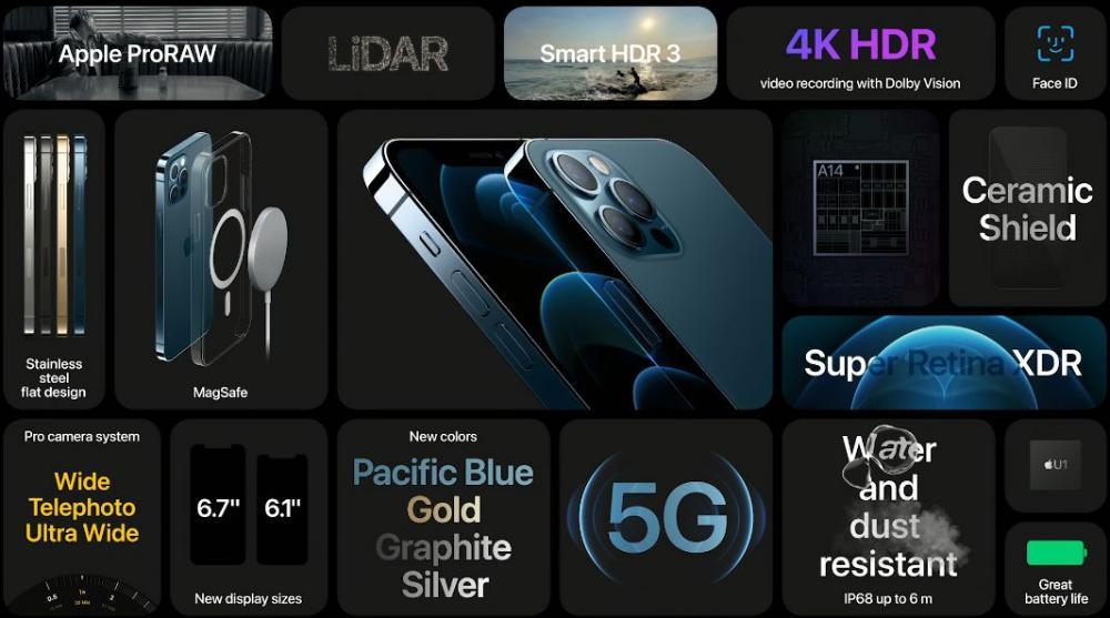 iphone 12 pro max 09 آیفون 12 معرفی شد؛ همه چیز درباره نسل جدید موبایل اپل