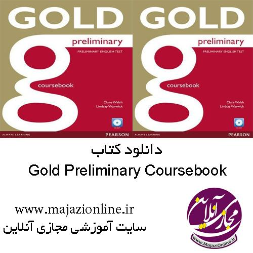 Gold Preliminary Coursebook