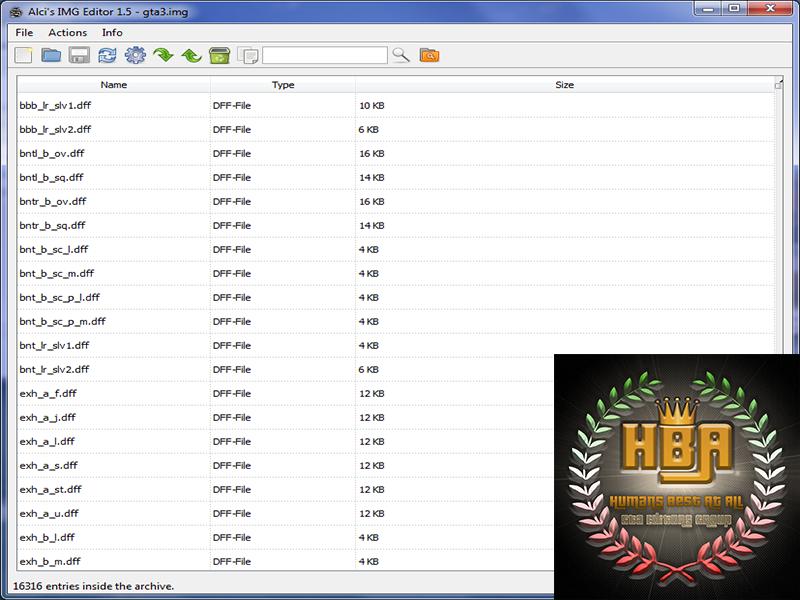 دانلود نرم افزار Alci's IMG Editor 1.5 برای اضافه کردن مود به جی تی ای سن آندرس