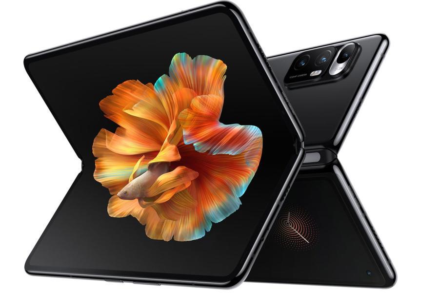 xiaomi mi mix fold black horizontal display camera back Xiaomi Mi Mix Fold، اولین گوشی تاشدنی شیائومی، رونمایی شد