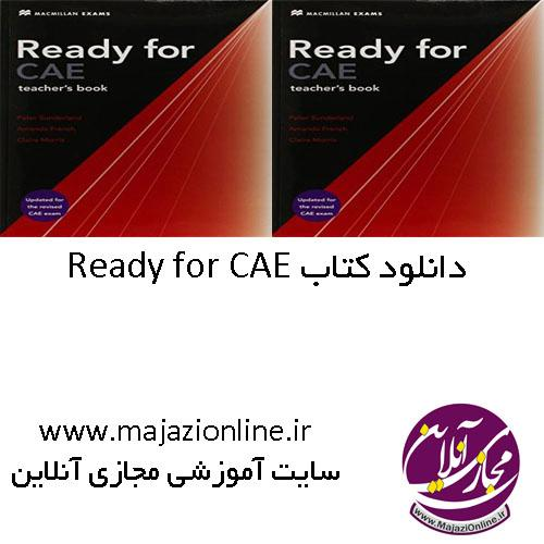 Ready for CAE teacher
