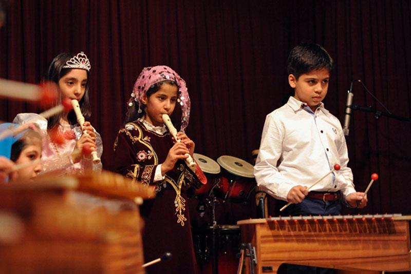 کنسرت آموزشگاه نوای سرنا