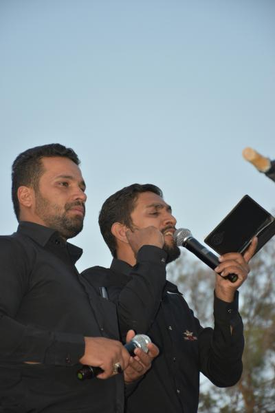 مهران بارانی برواتی مداح شهر بروات شهرستان بم ذاکرین بروات