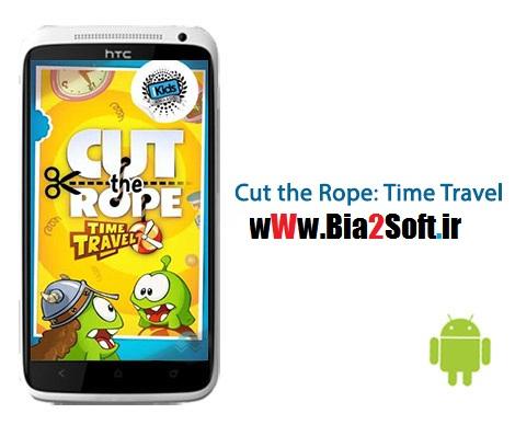 دانلود بازی طناب را ببر Cut the Rope: Time Travel 1.8.0 – اندروید