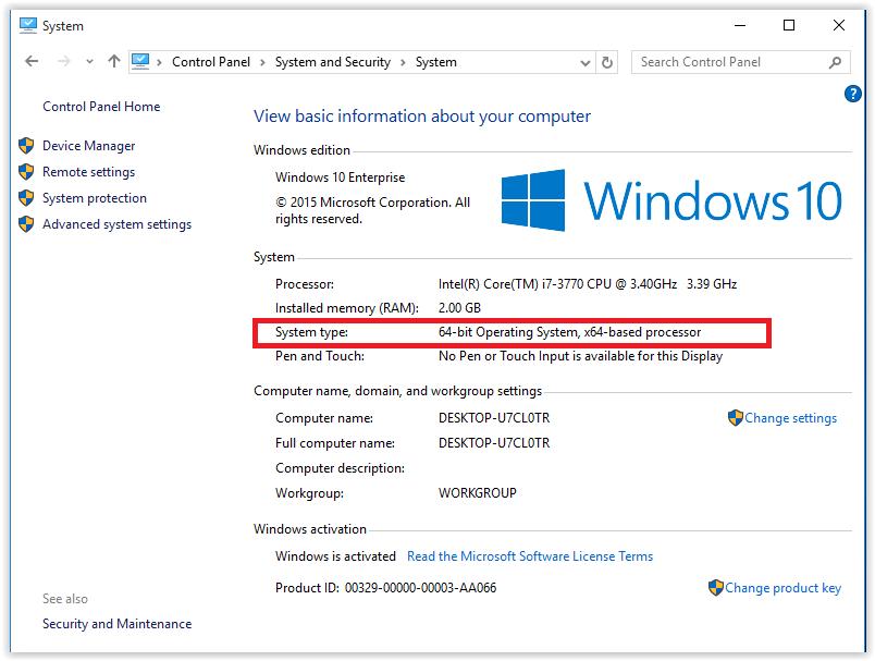 ویندوز 64 بیتی