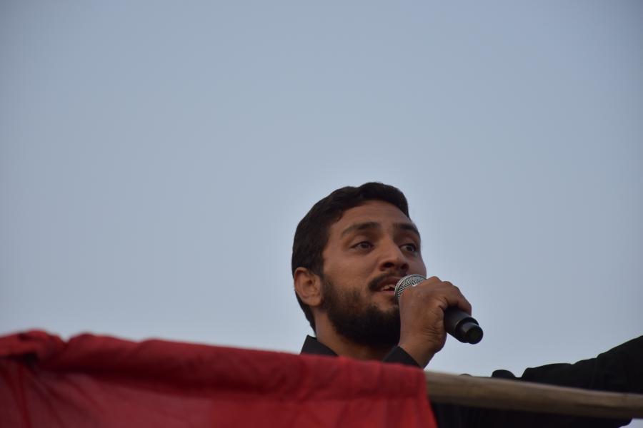 بروات بم مراسم زنجیرزنی هیئت عزاداران حسینی بروات مرحوم برقی شهرستان بم استان کرمان