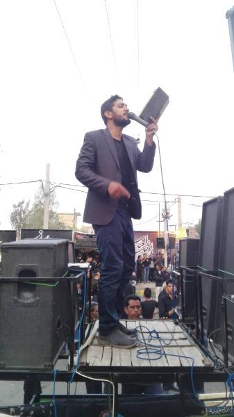 تاسوعا روز حضرت عباس علیه السلام در شهر بروات شهرستان بم