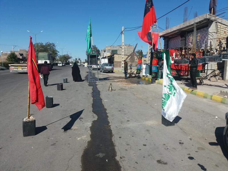 بم حسینیه سیدالشهدا بروات مرحوم محمد برقی واقع در شهرستان بم حسینیه سیدالشهدا