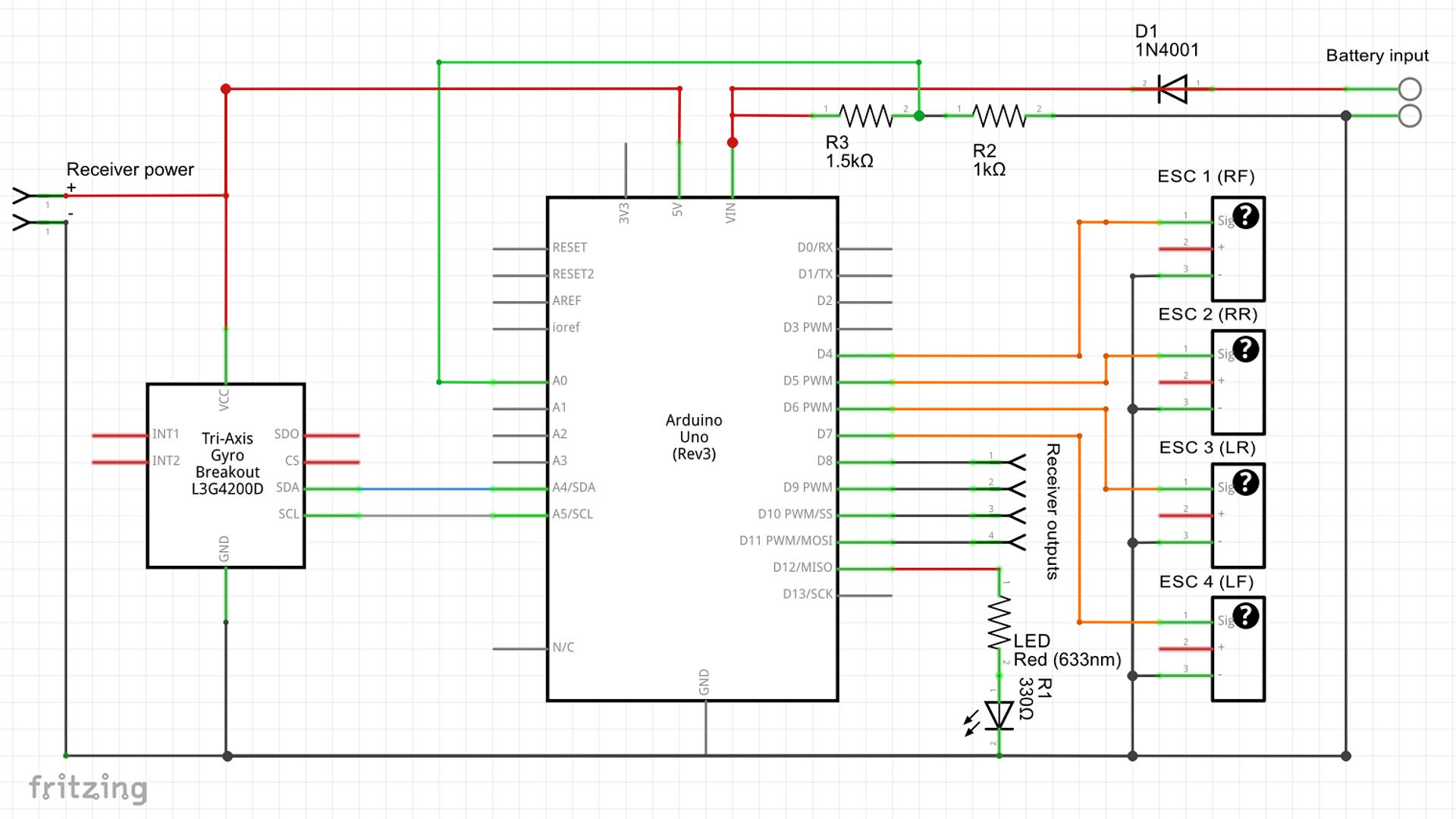 Avr Schematic on Quadcopter Arduino Schematic